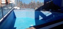 Exclusiva casa con varias terrazas y piscina