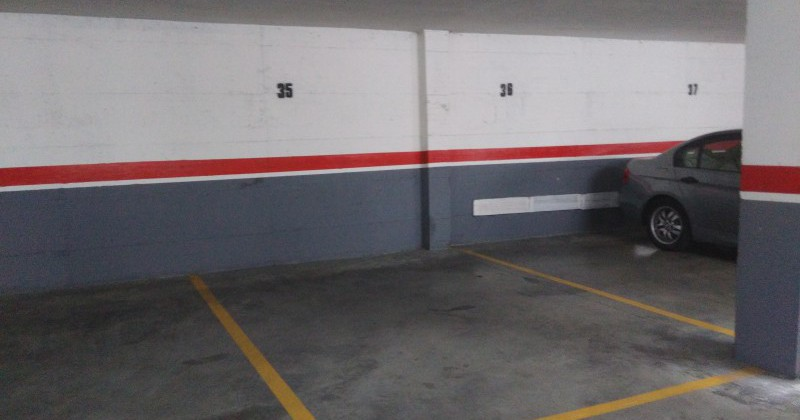 plazas de garaje procedentes de activos bancarios pisos