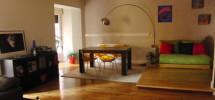 Decoración, estilo, amplios espacios con 2 dormitorios