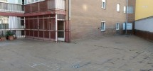 Super terraza comunitaria en piso de 3 dormitorios